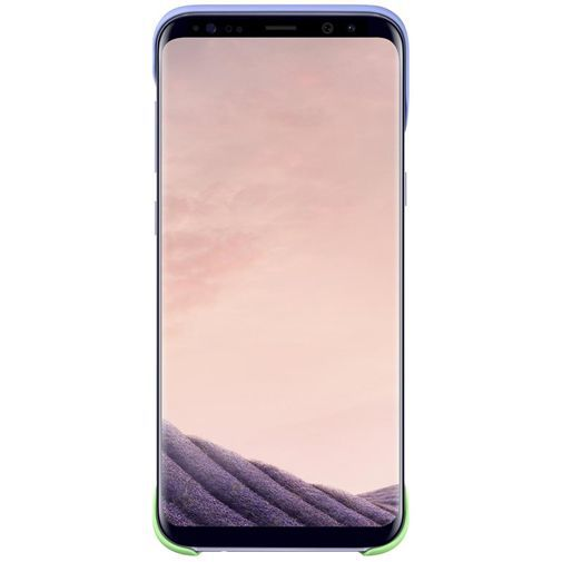 Samsung 2Piece Cover Violet/Green Galaxy S8