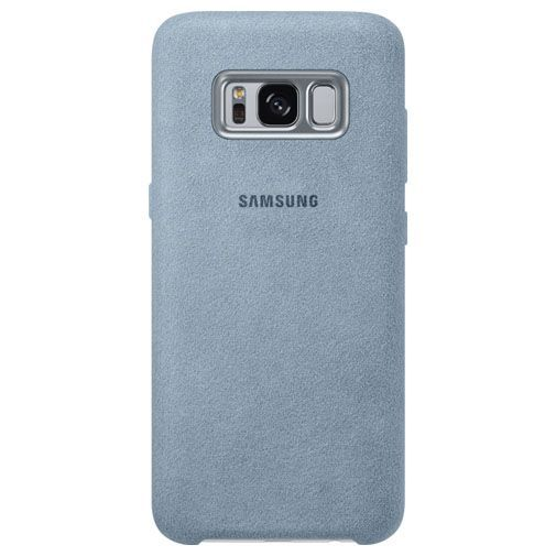 Productafbeelding van de Samsung Alcantara Back Cover Grey Galaxy S8