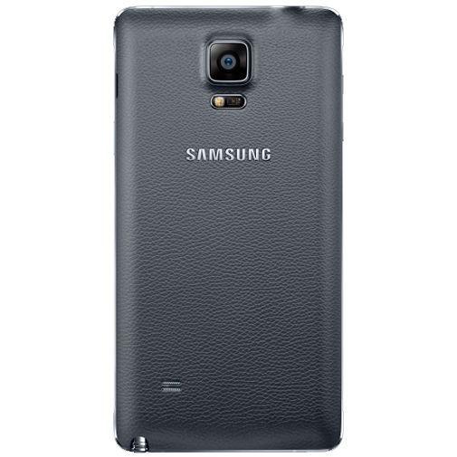 Productafbeelding van de Samsung Back Cover Black Galaxy Note 4
