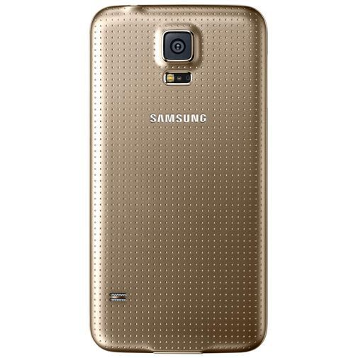 Productafbeelding van de Samsung Back Cover Gold Galaxy S5/S5 Plus/S5 Neo