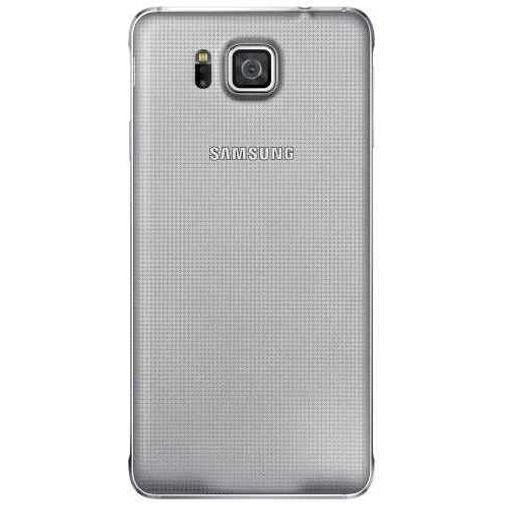 Productafbeelding van de Samsung Back Cover Silver Galaxy Alpha