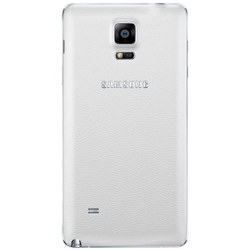 Productafbeelding van de Samsung Back Cover White Galaxy Note 4