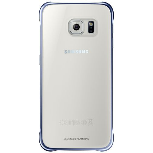 Productafbeelding van de Samsung Clear Cover Black Galaxy S6