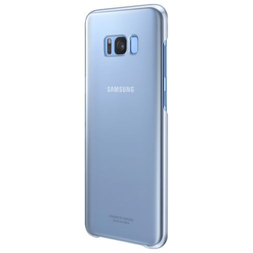 Productafbeelding van de Samsung Clear Cover Blue Galaxy S8+