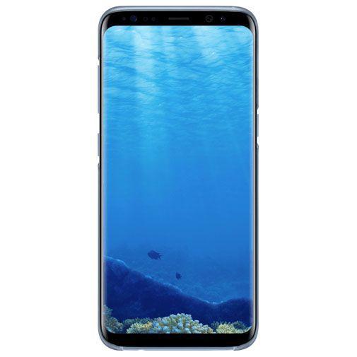 Productafbeelding van de Samsung Clear Cover Blue Galaxy S8