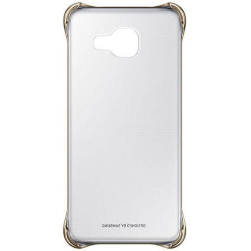 Productafbeelding van de Samsung Clear Cover Gold Galaxy A3 (2016)