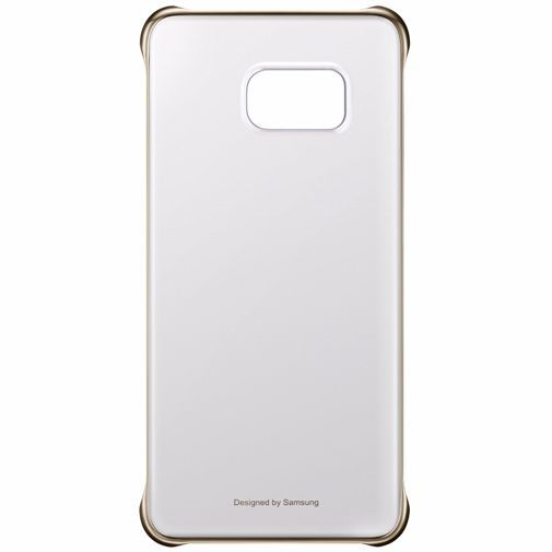 Productafbeelding van de Samsung Clear Cover Gold Galaxy S6 Edge Plus