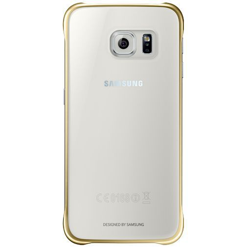 Productafbeelding van de Samsung Clear Cover Gold Galaxy S6