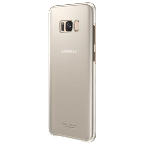 Productafbeelding van de Samsung Clear Cover Gold Galaxy S8+