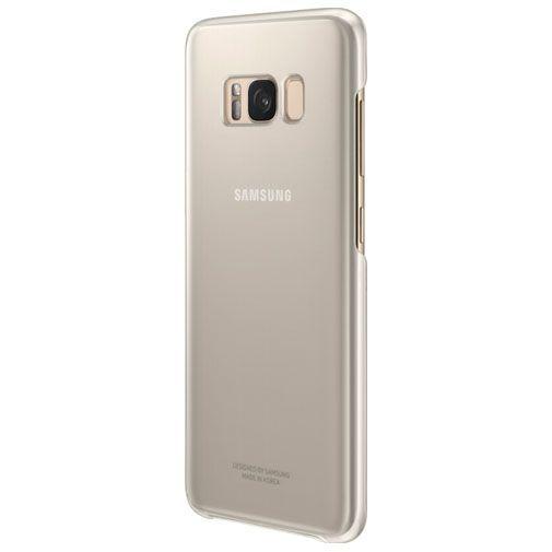 Productafbeelding van de Samsung Clear Cover Gold Galaxy S8