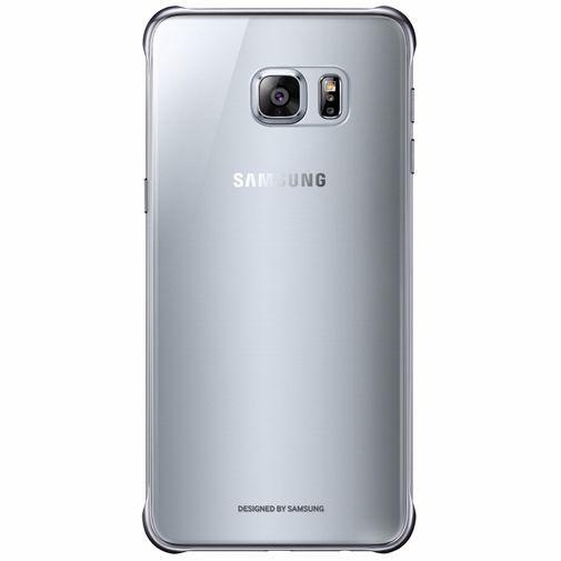 Productafbeelding van de Samsung Clear Cover Silver Galaxy S6 Edge Plus