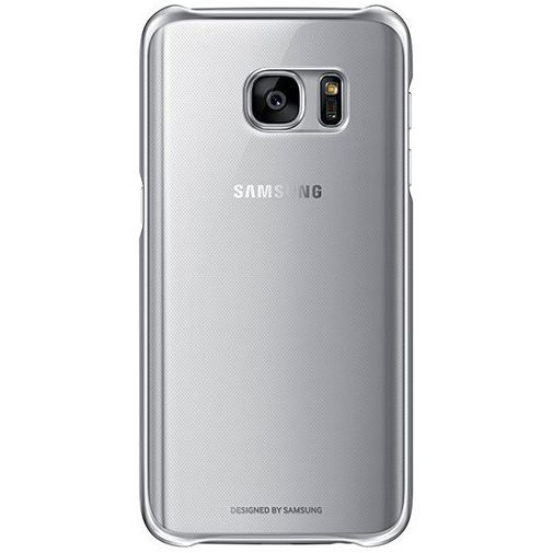 Productafbeelding van de Samsung Clear Cover Silver Galaxy S7