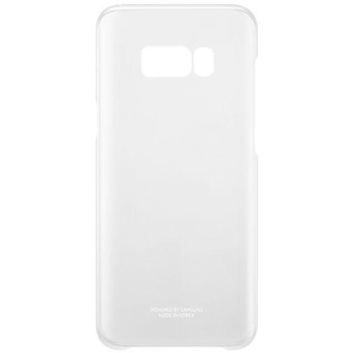Productafbeelding van de Samsung Clear Cover Silver Galaxy S8+