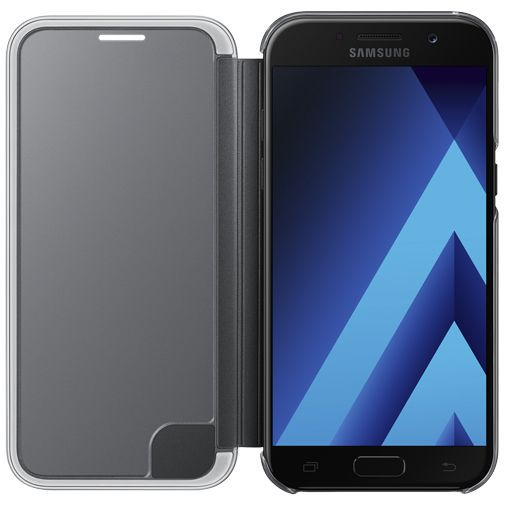 Productafbeelding van de Samsung Clear View Cover Black Galaxy A5 (2017)