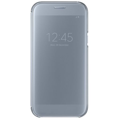 Productafbeelding van de Samsung Clear View Cover Blue Galaxy A5 (2017)