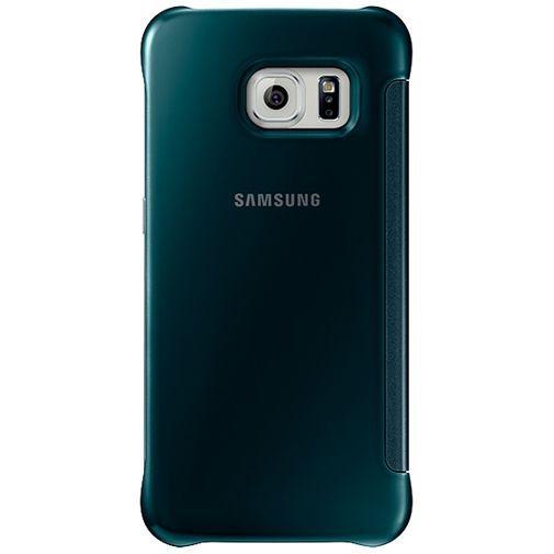 Samsung Clear View Cover Green Galaxy S6 Edge