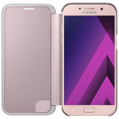 Productafbeelding van de Samsung Clear View Cover Pink Galaxy A5 (2017)
