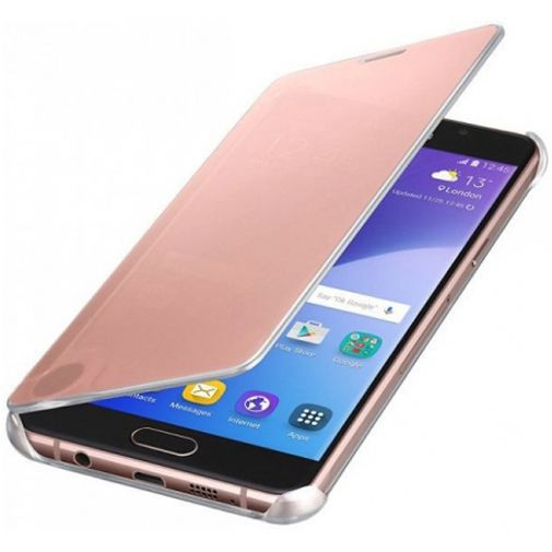 Productafbeelding van de Samsung Clear View Cover Rose Gold Galaxy A5 (2016)