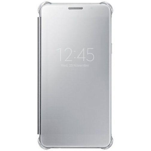 Productafbeelding van de Samsung Clear View Cover Silver Galaxy A5 (2016)