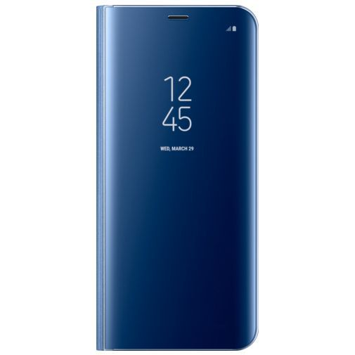 Productafbeelding van de Samsung Clear View Standing Cover Blue Galaxy S8