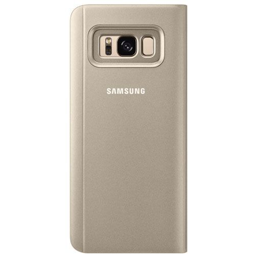 Productafbeelding van de Samsung Clear View Standing Cover Gold Galaxy S8