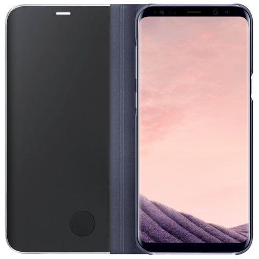 Productafbeelding van de Samsung Clear View Standing Cover Purple Galaxy S8+