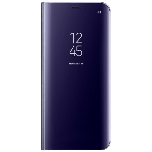 Productafbeelding van de Samsung Clear View Standing Cover Purple Galaxy S8