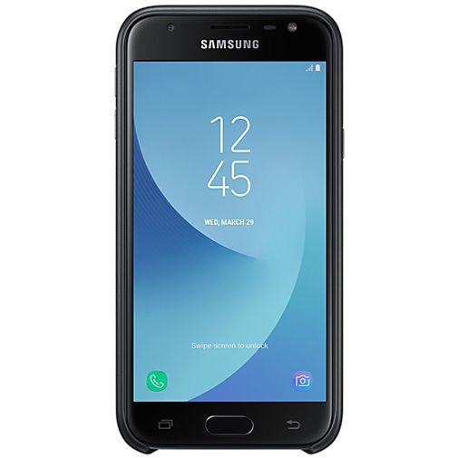 Produktimage des Samsung Dual Layer Cover Black Galaxy J3 (2017)