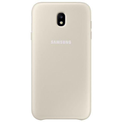 Productafbeelding van de Samsung Dual Layer Cover Gold Galaxy J7 (2017)