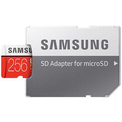 Produktimage des Samsung Evo+ microSDXC 256GB Class 10 + SD-Adapter