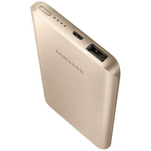 Productafbeelding van de Samsung Fast Charging Powerbank 5200 mAh Gold
