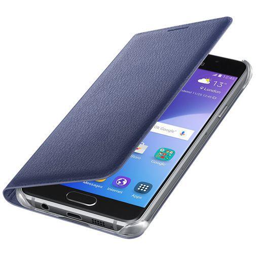 Productafbeelding van de Samsung Flip Cover Black Blue Galaxy A3 (2016)