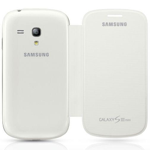 Productafbeelding van de Samsung Flip Cover Galaxy S3 Mini (VE) White