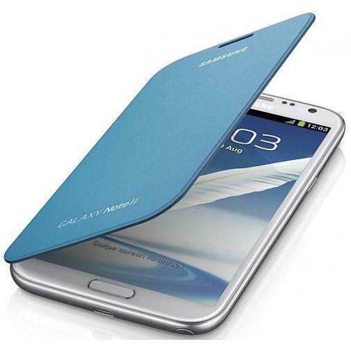 Productafbeelding van de Samsung Flip Cover Samsung Galaxy Note 2 Blue