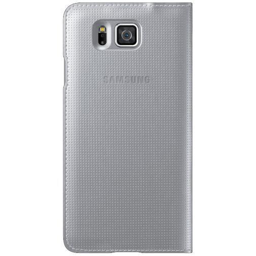 Productafbeelding van de Samsung Flip Cover Silver Galaxy Alpha