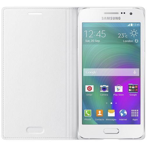 Productafbeelding van de Samsung Flip Cover White Galaxy A3