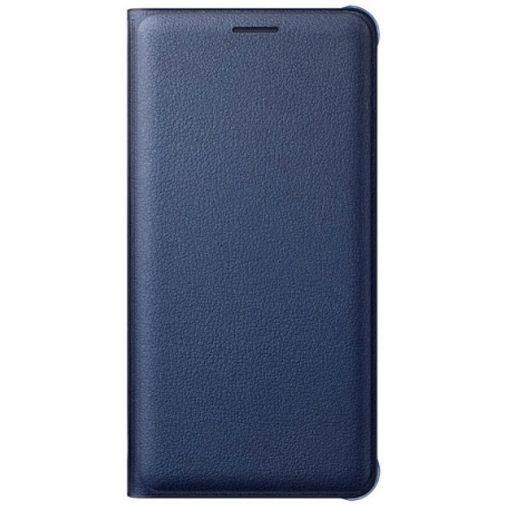 Productafbeelding van de Samsung Flip Wallet Black Blue Galaxy A5 (2016)