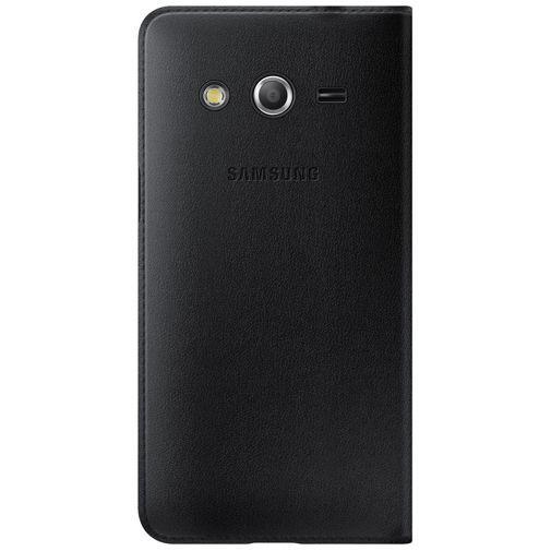 Productafbeelding van de Samsung Flip Wallet Black Galaxy Core 4G