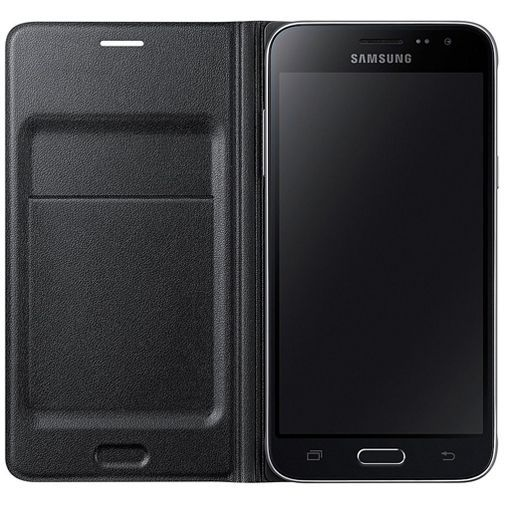 Productafbeelding van de Samsung Flip Wallet Black Galaxy J3 (2016)