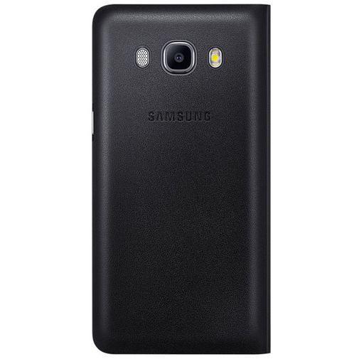 Produktimage des Samsung Flip Wallet Black Galaxy J5 (2016)