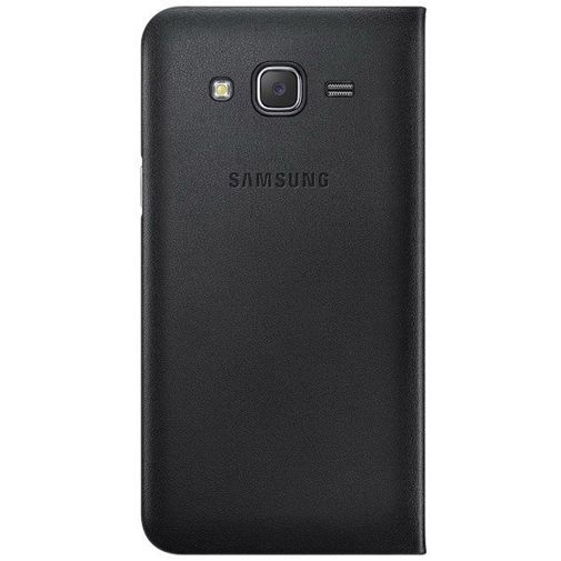 Productafbeelding van de Samsung Flip Wallet Black Galaxy J5