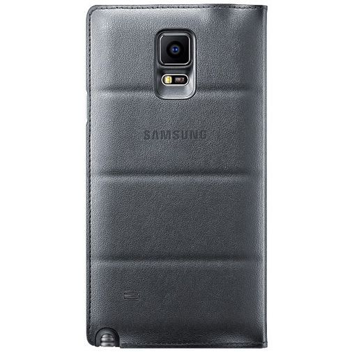 Productafbeelding van de Samsung Flip Wallet Charcoal Black Galaxy Note 4