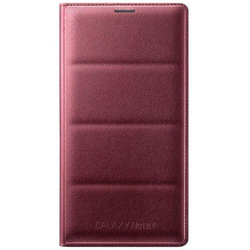Productafbeelding van de Samsung Flip Wallet Electronic Purple Galaxy Note 4