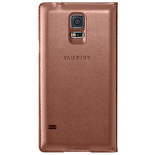 Productafbeelding van de Samsung Flip Wallet Galaxy S5/S5 Plus/S5 Neo Rose Gold