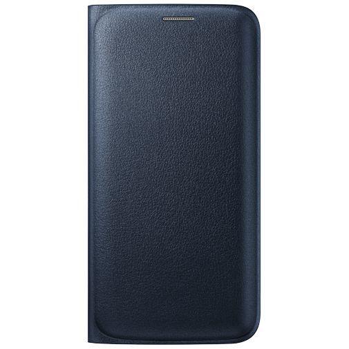 Productafbeelding van de Samsung Flip Wallet Original Black Galaxy S6 Edge
