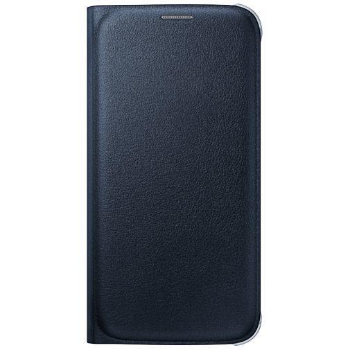Productafbeelding van de Samsung Flip Wallet Original Blue Black Galaxy S6