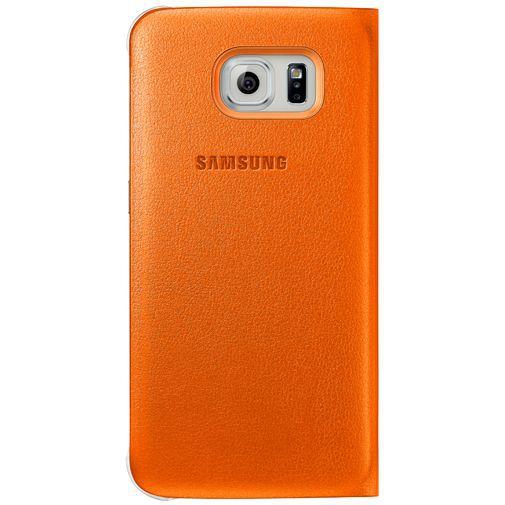 Productafbeelding van de Samsung Flip Wallet Original Orange Galaxy S6