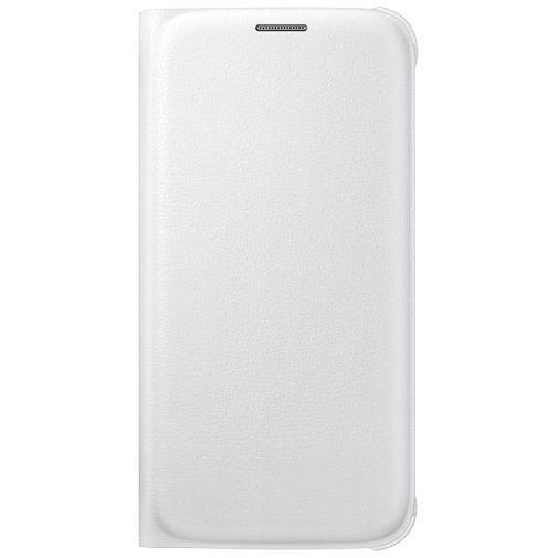 Productafbeelding van de Samsung Flip Wallet Original White Galaxy S6