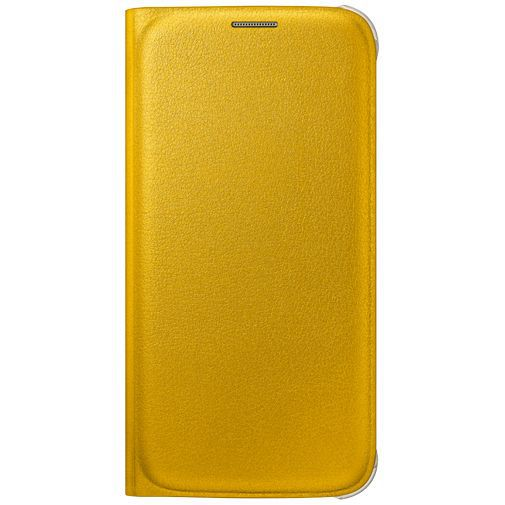 Productafbeelding van de Samsung Flip Wallet Original Yellow Galaxy S6