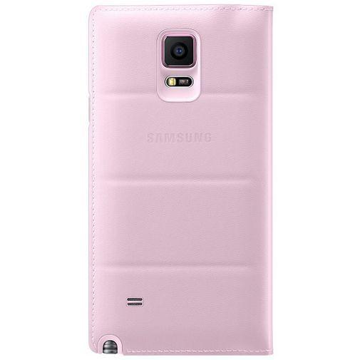 Productafbeelding van de Samsung Flip Wallet Pink Galaxy Note 4